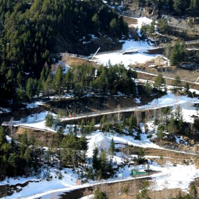 Les Marrades ski slope