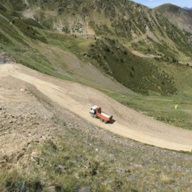 REPAIR OF ESQUIROL SKI SLOPE